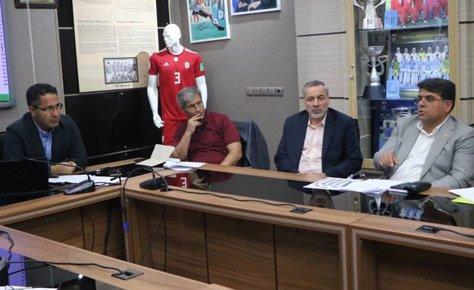 برگزاری اولین جلسه کارگروه توسعه فوتبال پایه