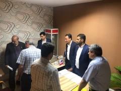 بازدید مسئول هیات های استانی فدراسیون فوتبال