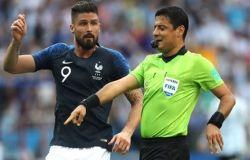 تبریک هیات فوتبال بابت قضاوت درخشان فغانی در جام جهانی